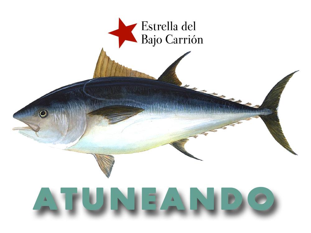 en junio atún rojo de almadraba en Estrella del Bajo Carrión
