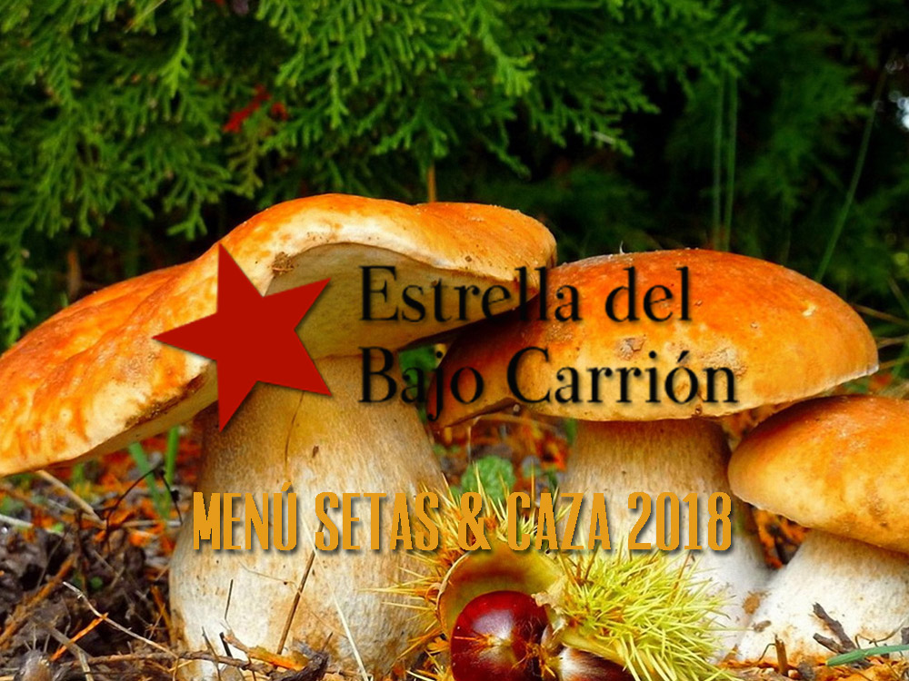 Menú nde Caza y Setas 2018